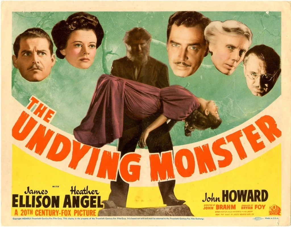 The Undying Monster de John Brahm
